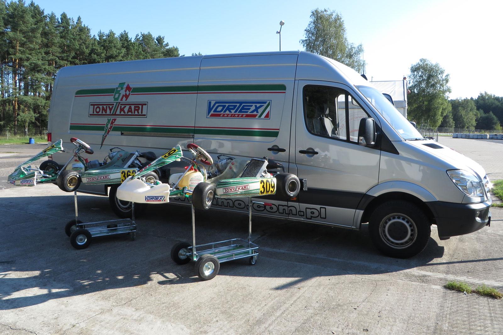 AMO Racing Team - jazdy testowe