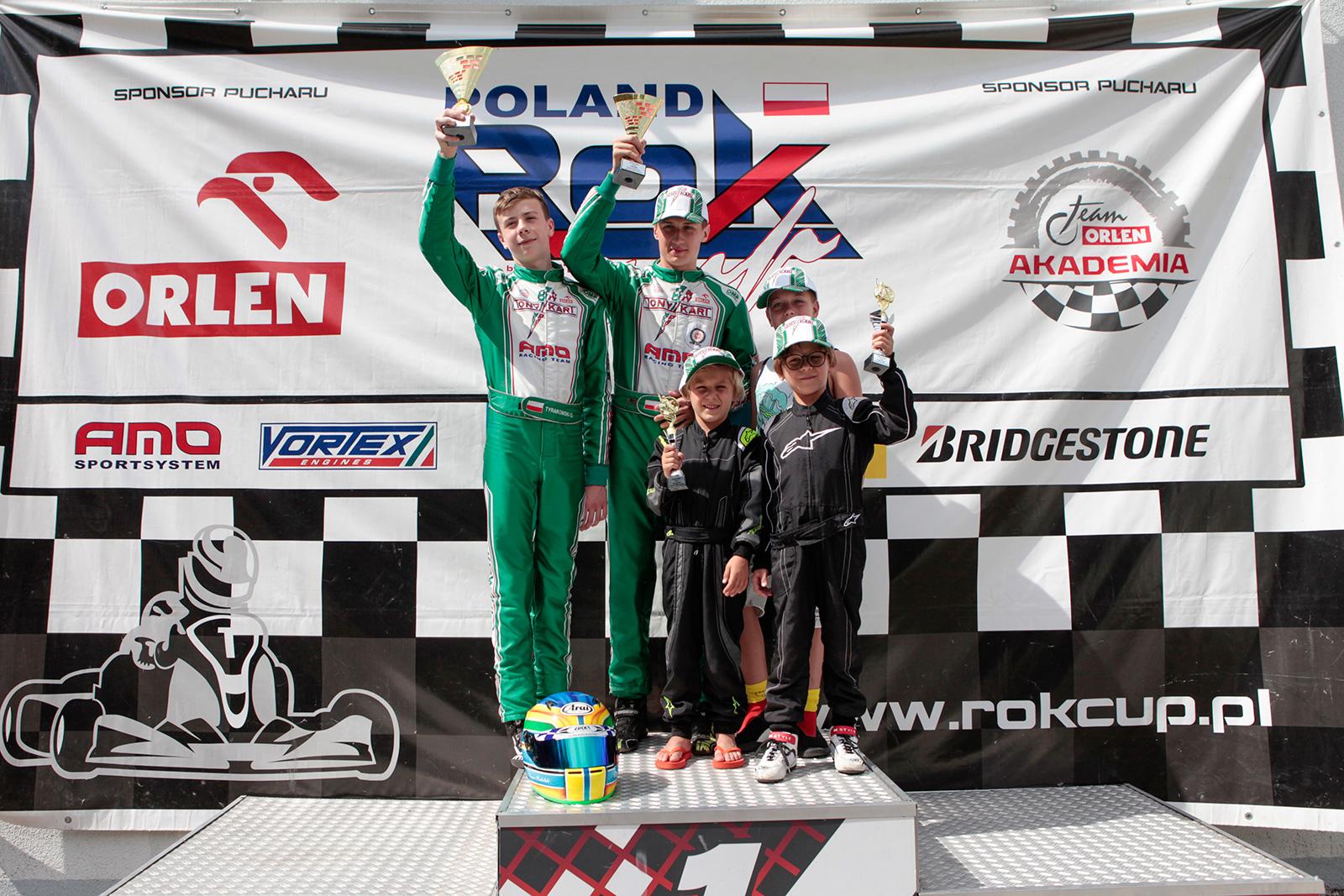 AMO Racing Team na podium - dublet w Zielonej Górze