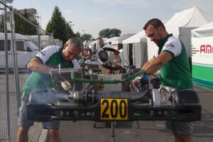 AMO Racing Team - przygotowanie przed startem