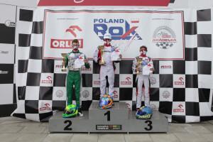 Bartosz Grzywacz na podium Rok Cup Poland