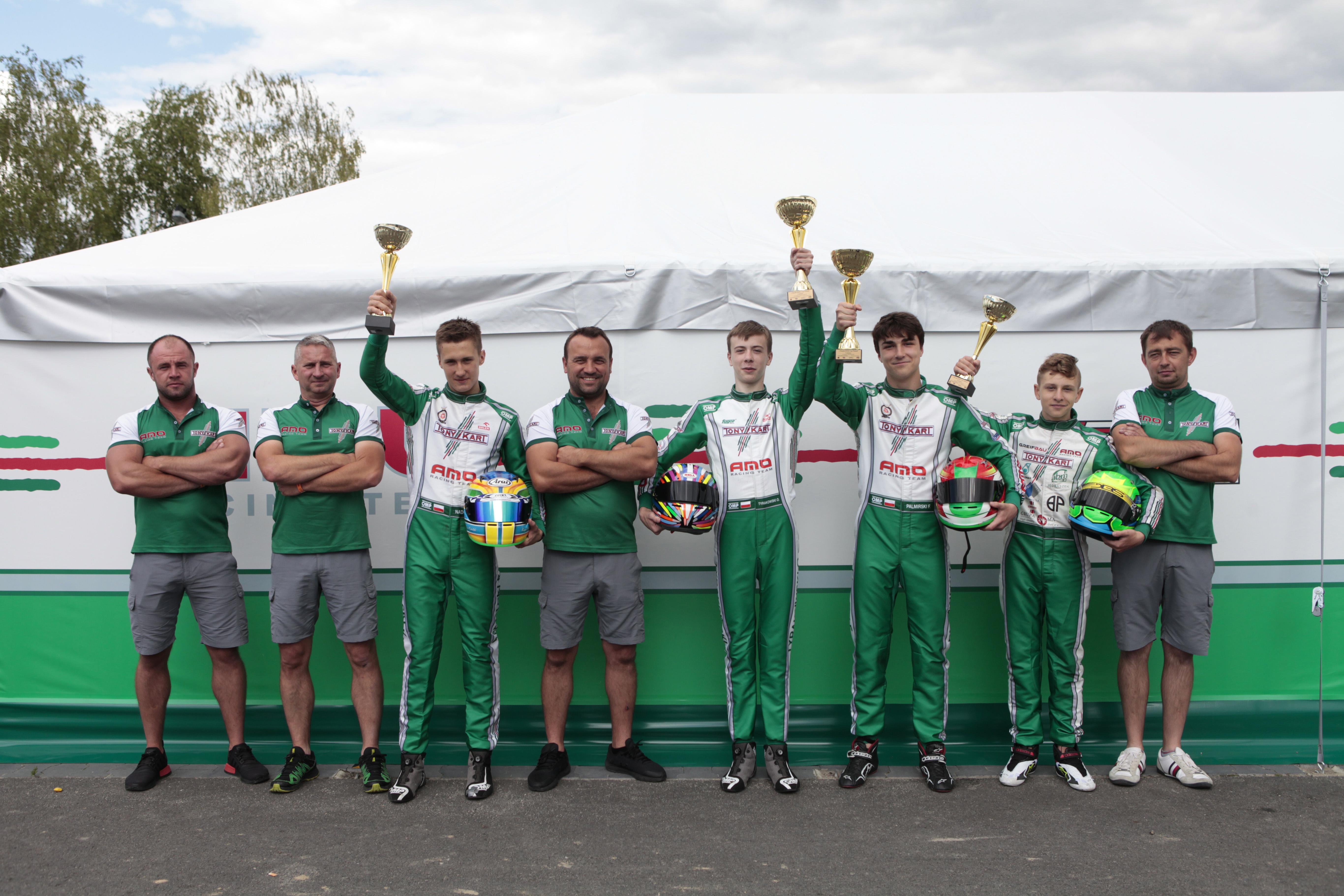 AMO Racing Team na zawodach Rok Cup Poland 2020