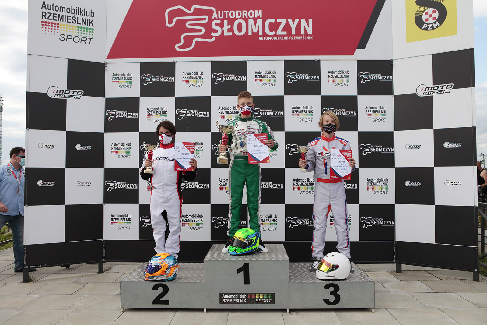 Podium Junior Rok GP