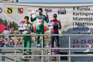 Kacper i Franek na podium KMP w Bydgoszczy