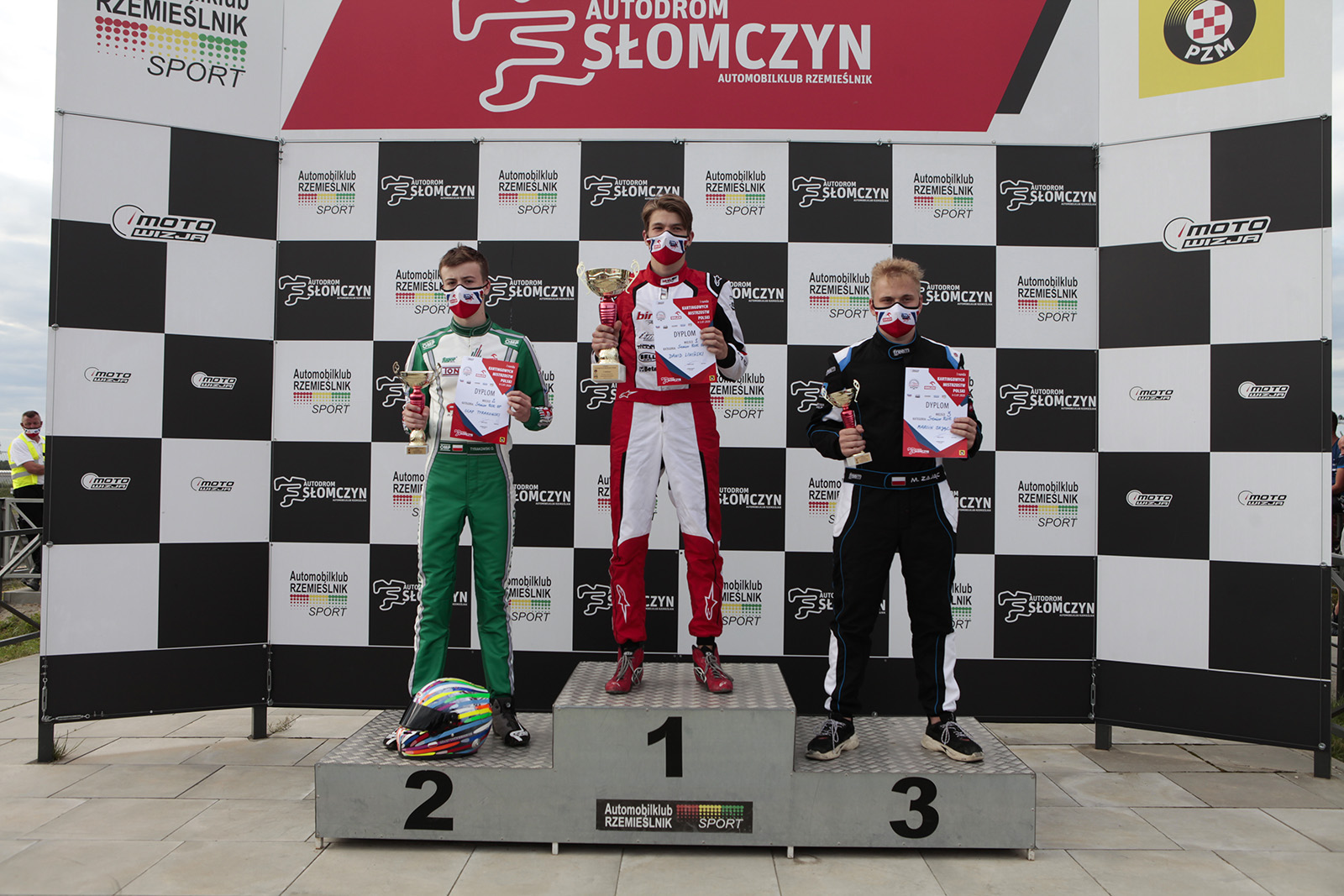 Podium Senior Rok GP