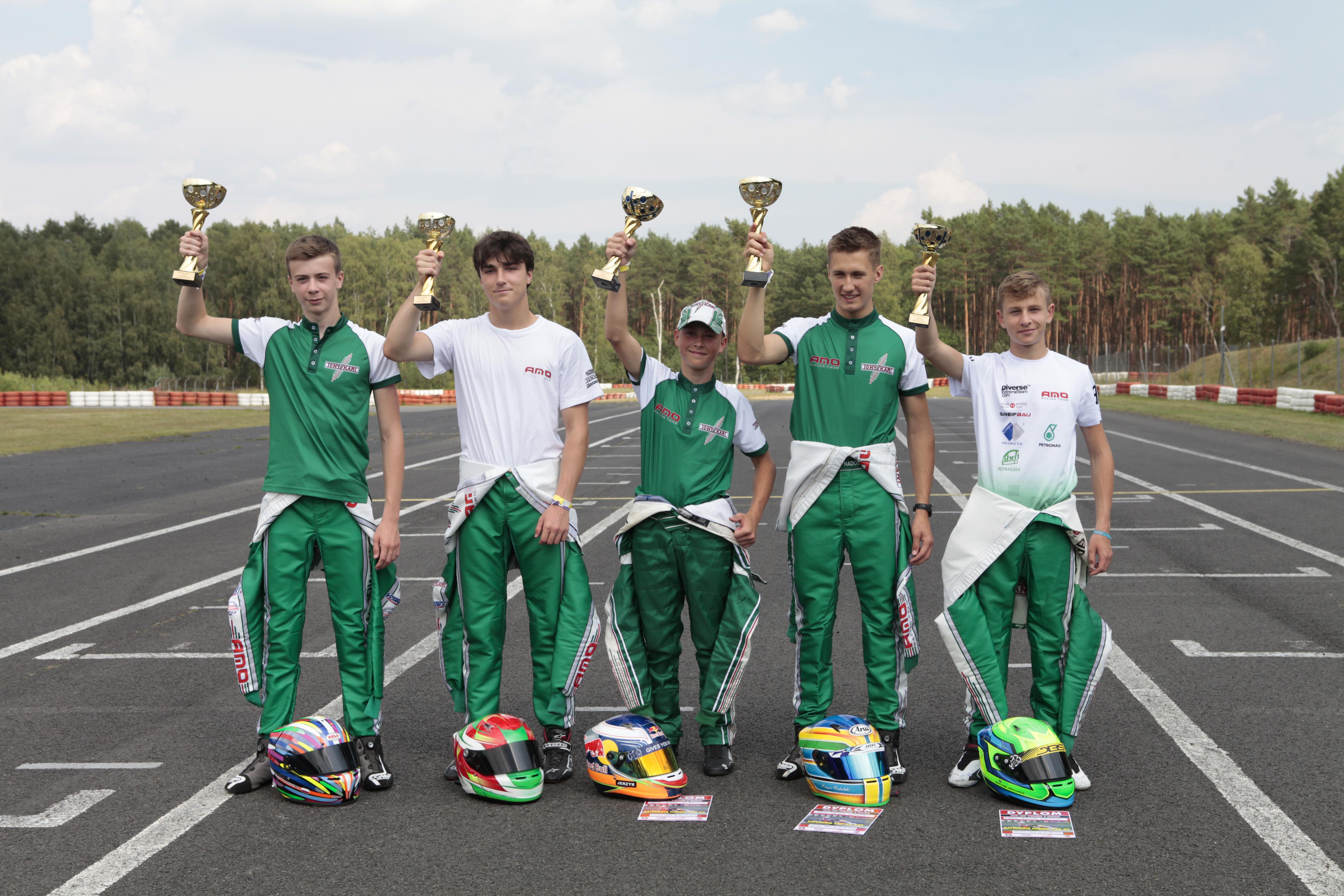 AMO Racing Team - pełne zwycięstwo w Zielonej Górze