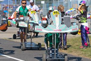 AMO Racing Team - przed startem