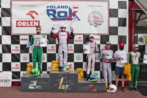 Podium Junior Rok GP