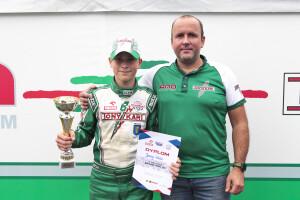 Jerzy Glac - II vice Mistrz Junior Rok GP 2020