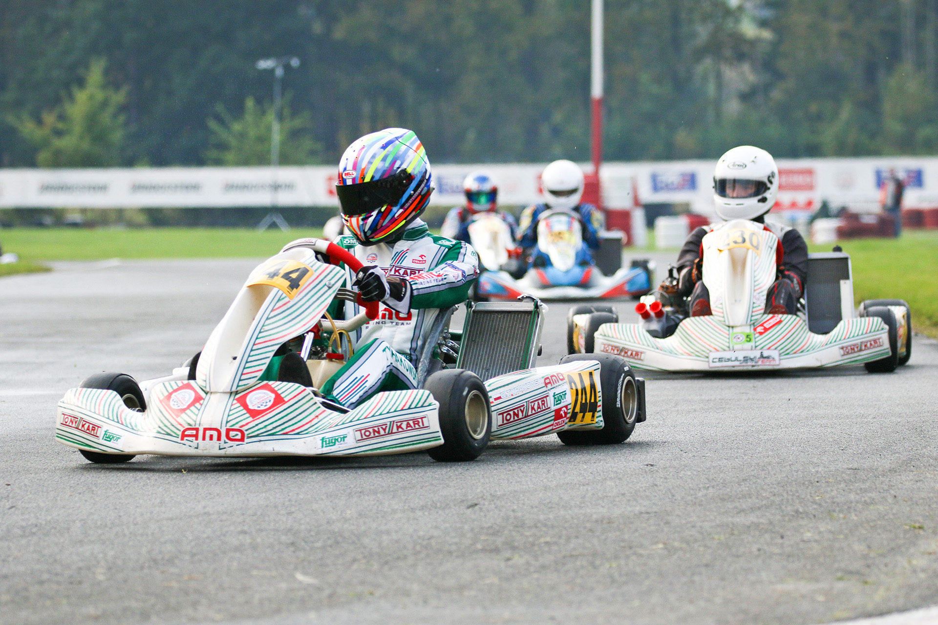 Senior Rok GP - karting - Olaf Tyrakowski