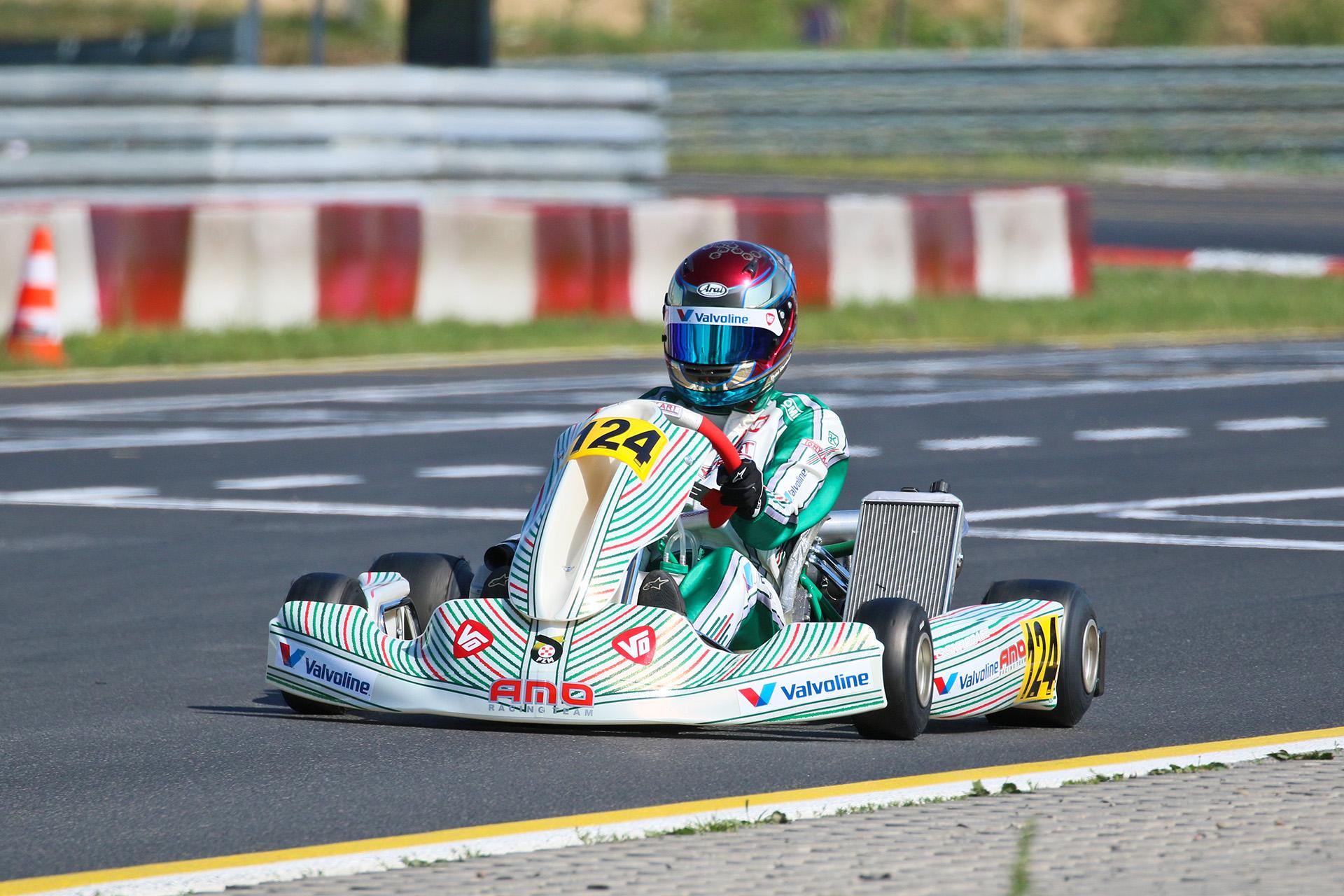 AMO Racing Team - Kartingowe Mistrzostwa Polski