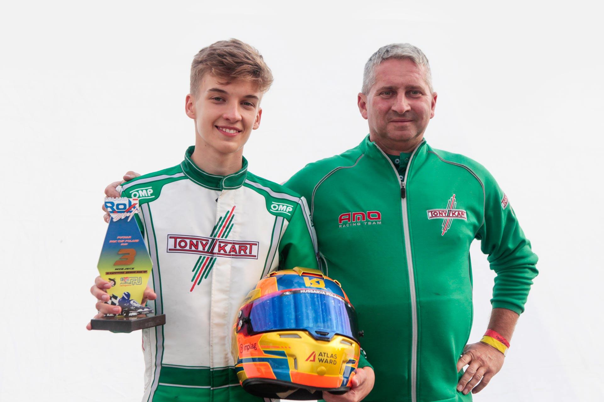 Kuba Jarosz - Senior Rok - AMO Racing Team - Rok Cup Poland
